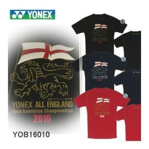 【即日出荷】【全英オープン2016年記念Tシャツ】 YONEX / ヨネックス ユニ Tシャツ YOB16010 【数量限定】【クリックポスト対応可】|sunfastsports
