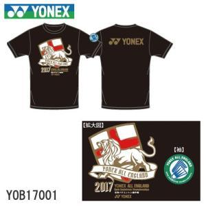 【即日出荷】【全英オープン2017年記念Tシャツ】 YONEX / ヨネックス  ユニ ドライ Tシャツ YOB17001 【数量限定】【クリックポスト対応可】|sunfastsports