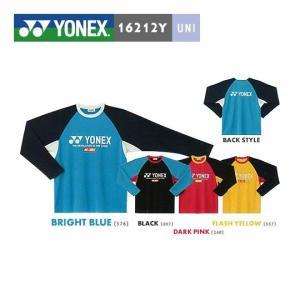 【数量限定商品】 【即日出荷】 YONEX 16212Y ユニ ロングスリーブTシャツ|sunfastsports