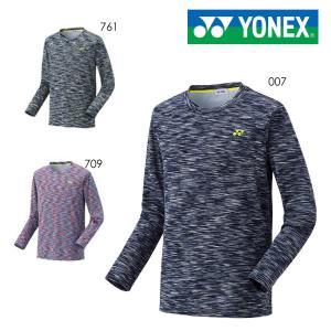 【大特価】YONEX 16404 ロングスリーブTシャツ(フィットスタイル) バドミントン・テニスウェア(メンズ・ユニ) ヨネックス【メール便可】|sunfastsports
