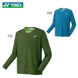 【大特価】YONEX 16411 ロングスリーブTシャツ(フィットスタイル) バドミントン・テニスウェア(メンズ・ユニ) ヨネックス【メール便可】|sunfastsports