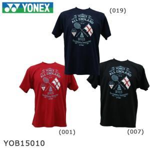 【数量限定】【全英オープン2015年記念Tシャツ】 YONEX YOB15010 ユニサイズ|sunfastsports