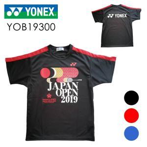 YONEX YOB19300 ユニ プラクティスTシャツ(ダイハツ・ヨネックス ジャパンオープン 2019) 大会記念Tシャツ ヨネックス【クリックポスト可】