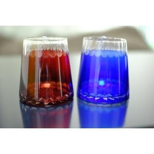 赤富士・青富士グラス2P|sunfield-silica