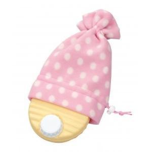 【キャンディーゆたんぽ 1個入り ピンク】 湯たんぽ 足元 おやすみ 安眠グッズ エコ sunfield-silica