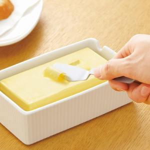 【じわっととろける バターナイフ 1個入り】 熱伝導 切りやすい 塗りやすい おしゃれ バター ナイフ アウトドア 食パン パン 料理 インスタ映え sunfield-silica