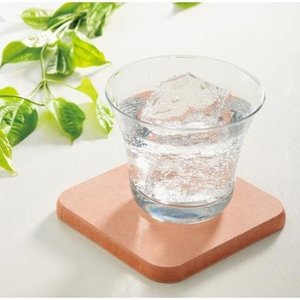 【珪藻土コースター1個入り】 吸放湿 半永久的 水分 結露 放出 乾燥 脱臭効果 キッチン雑貨|sunfield-silica
