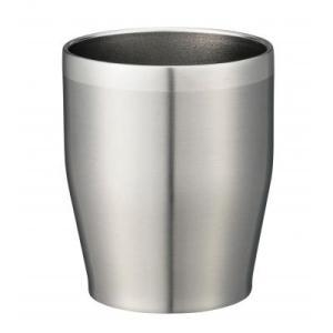 【真空ステンレスタンブラー350ml(シルバー)1個入り】 シンプル 大人っぽい アイスコーヒー アイスティー カフェ|sunfield-silica