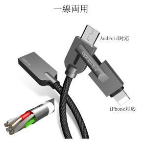 USBケーブル 携帯ケーブル iPhone/Android対応 iPhone/Android充電線 USB充電線 iPadケーブル 着  脱式 データ転送充電線 データケーブル sunflower-y