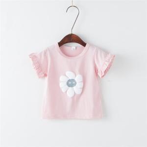 70-100cmベビー服 半袖シンプルTシャツ 激安 おしゃれ カジュアル トップス アウトウエア 春夏 超人気 女児 着心地いい|sunflowerhouse