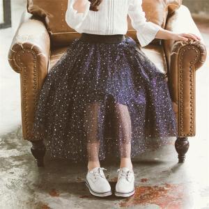 親子ペア 子供スカート 星柄 子供用 子供服 女の子 キッズ服 親子服 子供チュチュスカートミニ キッズチュールスカート フォーマル スカート 小柄|sunflowerhouse