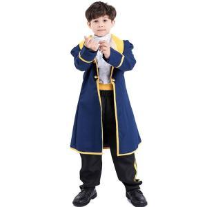 ハロウィン コスプレ コスチューム 王子様 子供用 アニメ キャラクター 衣装 仮装 男の子 パーデ...