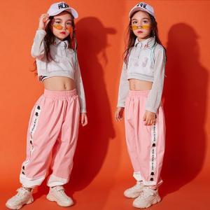 キッズ ダンス衣装 ヒップホップ キラキラ HIPHOP チアガール セットアップ  タンクトップ  トップス パンツ ズボン 子供  女の子 ステージ衣装 練習着|sunflowerhouse