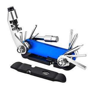 自転車工具セット 携帯マルチツール Oziral 2020新型スタイル 自転車修理キット 六角レンチ タイヤレバー チェーンカッター 多機能|sunflowermagic