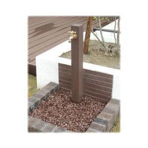 ディーズガーデン DGW0102 水栓柱 ウォータースタンドTypeA 立水栓一口タイプ 蛇口1個付き 送料無料|sungarden-exterior