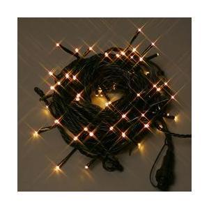 LEDストレートコード100球約10m/ハニーゴールドコントローラー付 送料無料 sungarden-exterior