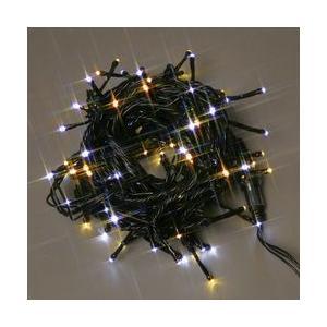 LEDストレートコード100球(ブラックコード)・約10m/ハニーゴールド・白コントローラー付 sungarden-exterior