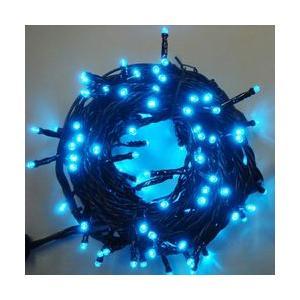 LEDストレートコード100球(ブラックコード)・約10m/トルコブルーコントローラー付 sungarden-exterior
