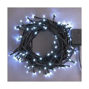 LEDストレートコード100球(ブラックコード)・約10m/白コントローラー付 sungarden-exterior