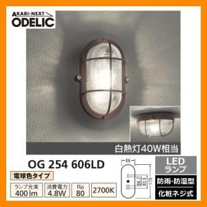 LED 照明 LED ポーチライト OG 254 606LD LEDライト 外灯 屋外 門灯 ODELIC オーデリック 送料無料|sungarden-exterior