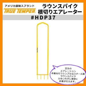 ガーデンツール スパイク ラウンスパイク(根切りエアレーター) 型番HDP37 True Temper  トゥルーテンパー アメリカ輸入品 芝生根切り用 送料別|sungarden-exterior