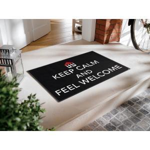 ドアマット エントランスマット ウェルカムマット Keep Calm A024A 50×75cm|sungen-store