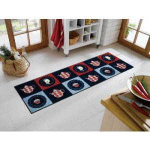 キッチンマット ノンスリップマット クックマット ロイヤルティー B010C 60×180cm|sungen-store
