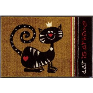 ペットマット ドアマット エントランスマット アニマルマット 猫 G010A  50×75cm|sungen-store