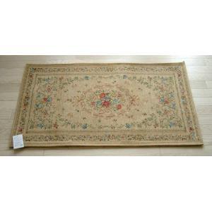 玄関マット ゴブラン織りマット 68×120cm ダークベージュ|sungen-store
