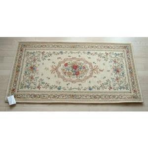 玄関マット ゴブラン織りマット 68×120cm ライトベージュ|sungen-store
