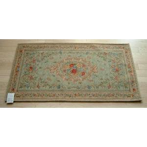玄関マット ゴブラン織り マット 60×90cm グリーン|sungen-store
