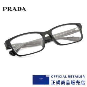 プラダ メガネ フレーム PRADA PR01SV 1AB1O1 56サイズ   スクエア   レイ...