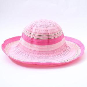 つば広 帽子 UVカット キッズ UV日よけ帽子 SB27-...