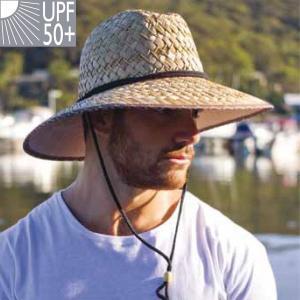麦わら帽子 メンズ  ハット ストローハット  男性用 UV...