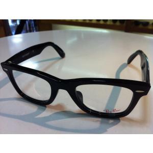 Ray Ban(レイバン) WAYFARER(ウェイファーラー) RX5121F/2000 メガネフレーム 50サイズ 新品