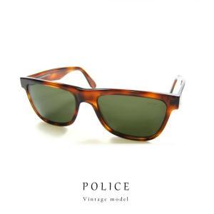 ポリス サングラス (ヴィンテージモデル) POLICE 1250-710 レトロ デッドストック【 送料無料 】 初期 ポリス|sunhat