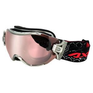 スノーゴーグル メンズ 男性用 AXE アックス ax750-wcm-sv スキー スノボー ゴーグル シルバーミラー|sunhat