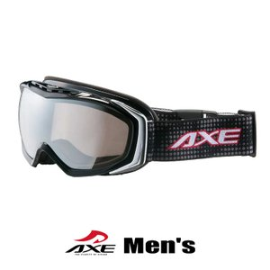 スノーゴーグル メンズ 男性用 AXE アックス ax700 wmd bk ブラック スキー スノボー|sunhat