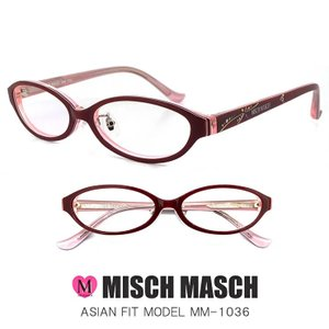 MISCH MASCH レディース 眼鏡 mm-1036-3 ミッシュマッシュ メガネ 女性用 かわいい UVカット 紫外線対策 sunhat