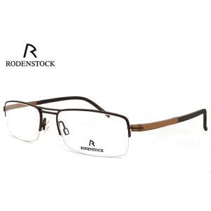 ローデンストック 眼鏡 (メガネ) RODENSTOCK r4720 B ナイロール ハーフリム コンビネーション フレーム メンズ 男性用 【 度付き 度なし 老眼鏡 】 対応|sunhat