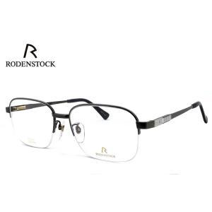 日本製 ローデン ストック 眼鏡 めがね メンズ RODENSTOCK R0179 C チタン 度付き & 度なし 対応 薄型 UVカットレンズ付き ダテ眼鏡 バネ蝶番 exclusiv|sunhat