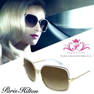 パリスヒルトン PARIS HILTON サングラス アジアンフィットモデル ph6518 B ビックフレーム レディース 女性用 国内正規品|sunhat