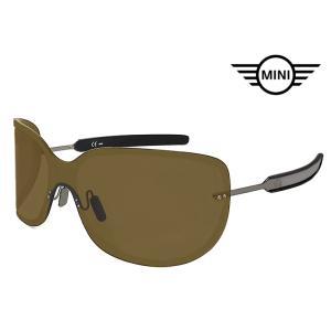 ミニ サングラス MINI SMI402 568 UVカット ミニクーパー 小ぶり かわいい レディース メンズ mini cooper MOD.SMI402 ブラウン|sunhat