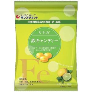 鉄 キャンディー レモンライム味 栄養機能食品 10袋 サン...