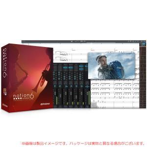 PRESONUS NOTION 6 日本語版 パッケージ版 安心の日本正規品!|sunmuse