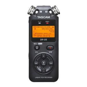 TASCAM DR-05 VER2-JJ 日本語対応版 8GB SDHCカードプレゼント!安心の日本正規品!