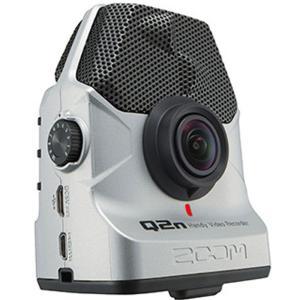 ZOOM Q2n/S シルバー 安心の日本正規品!音楽向けビデオカメラ!|sunmuse