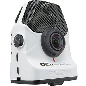 ZOOM Q2n/W ホワイト 【最後の1台/品切れの際はご容赦ください】安心の日本正規品!音楽向けビデオカメラ!|sunmuse