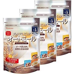 日本食品製造  まとめ買い日食 プレミアムピュアオートミール 300g×3袋