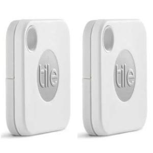 Tile Mate 紛失防止タグ 探し物発見器 EC-13001-AP 電池交換版 [2個セット]